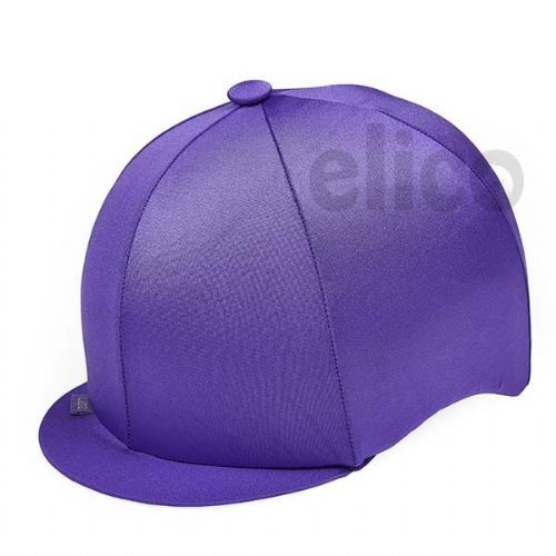 Capz Lycra Hat Cover in Purple